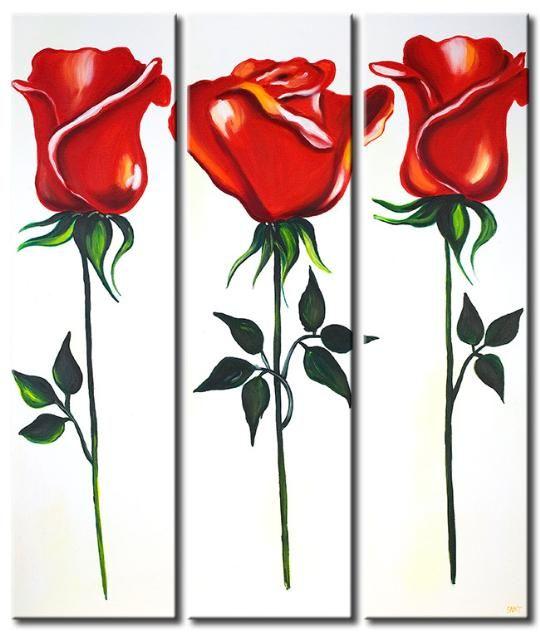 Buongiorno a tutte quadri moderni con fiori nel 2019 for Dipingere quadri moderni