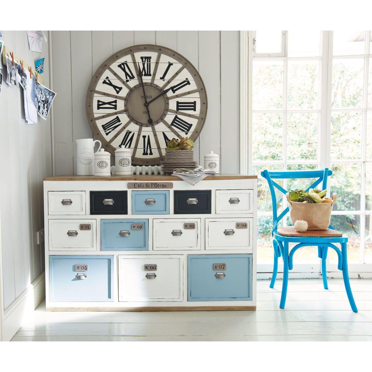 Comptoir Meuble De Metier Blanc Molene Meuble De Metier Deco Maison Du Monde Decoration Campagnarde