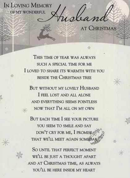 Missing My Husband At Christmas Quotes: Merry Christmas To My Husband In Heaven