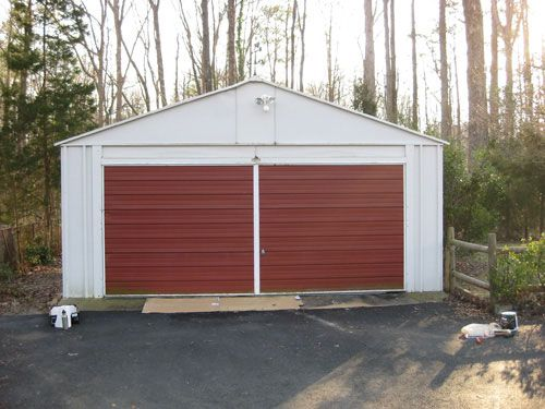 Painting A Garage Door Is Easy And Affordable Heres How We