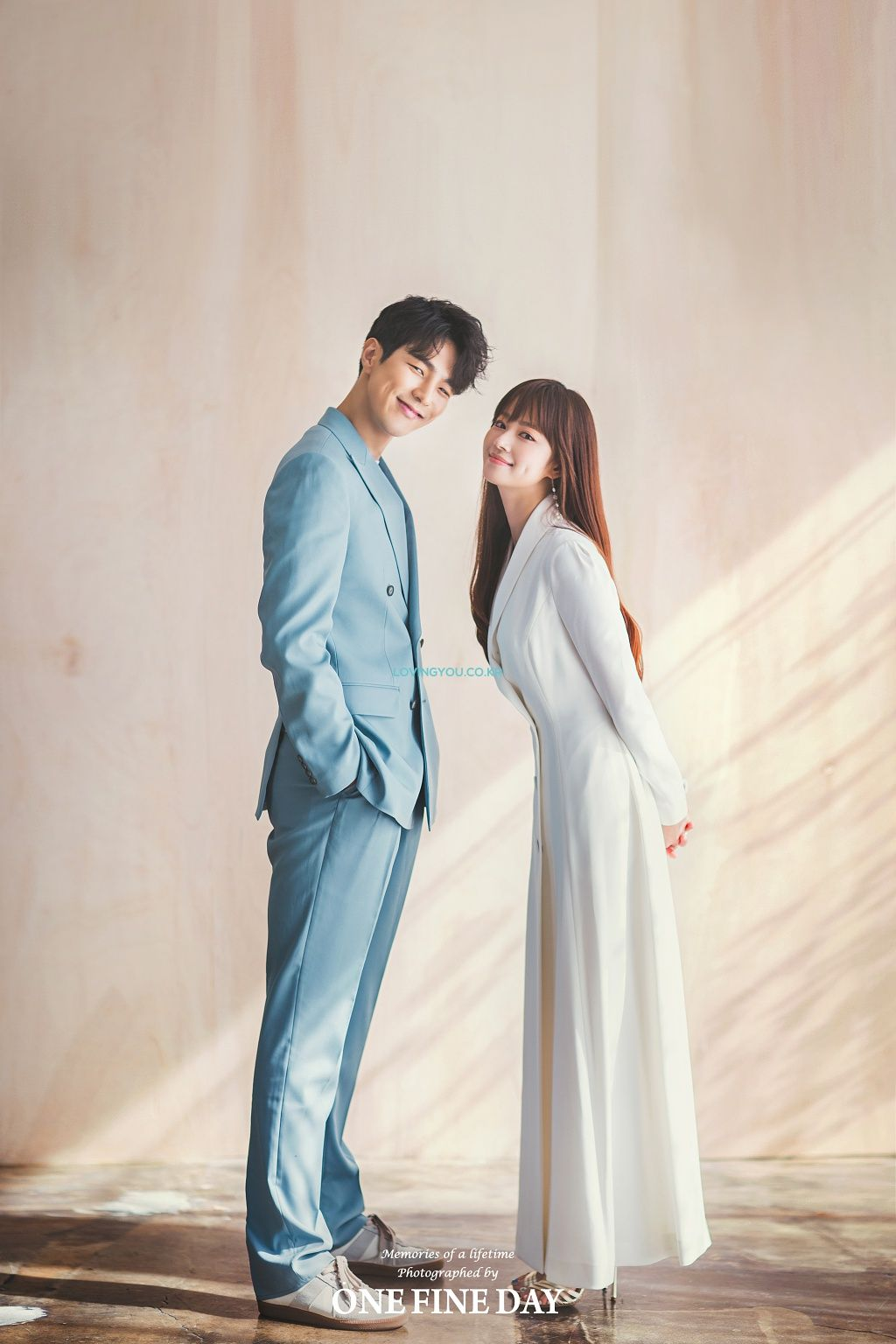 ONE FINE DAY [ONE FINE DAY] - KOREA PRE WEDDING PHOTOSHOOT by LOVINGYOU