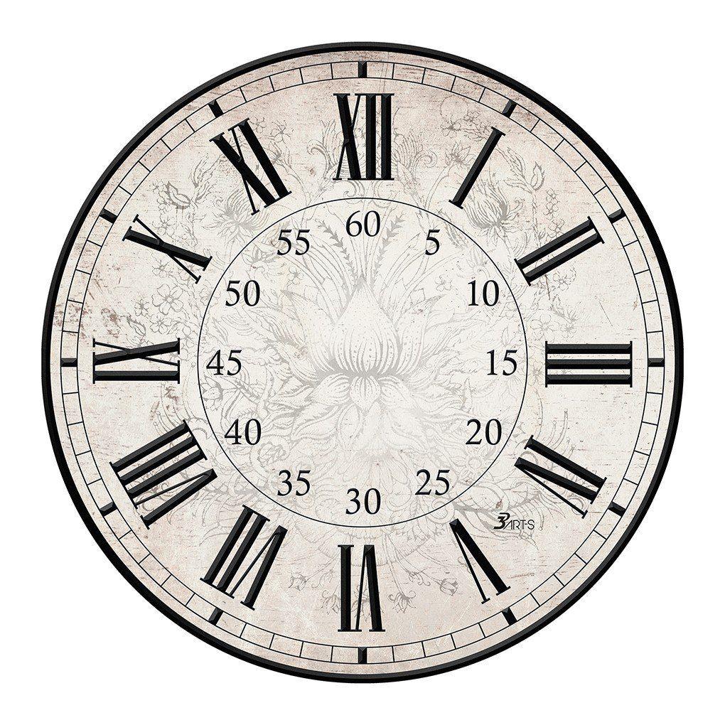 Картинки циферблата часов без стрелок