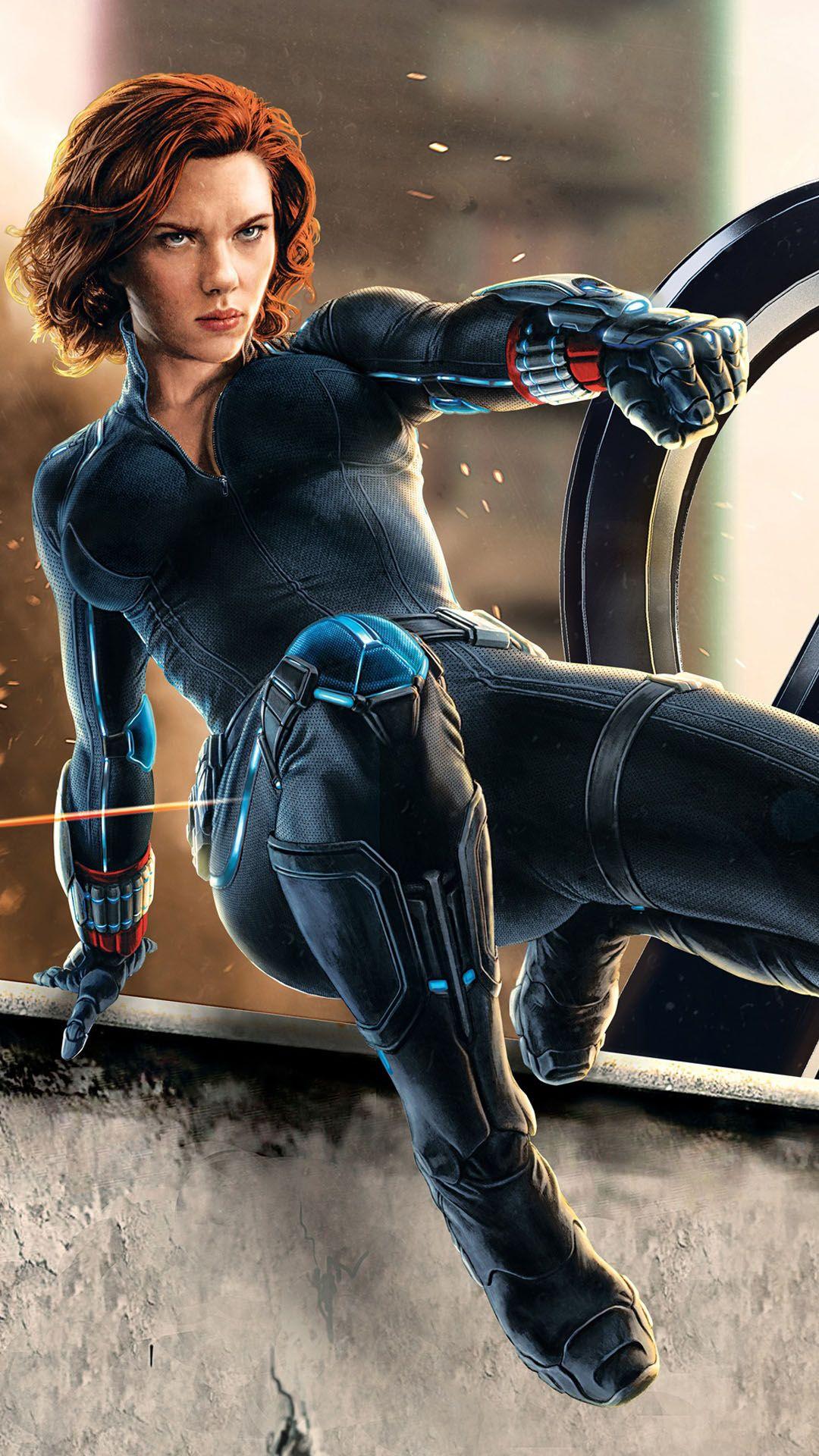 Natasha Romanoff Black Widow Daily iPhone 6/5/4