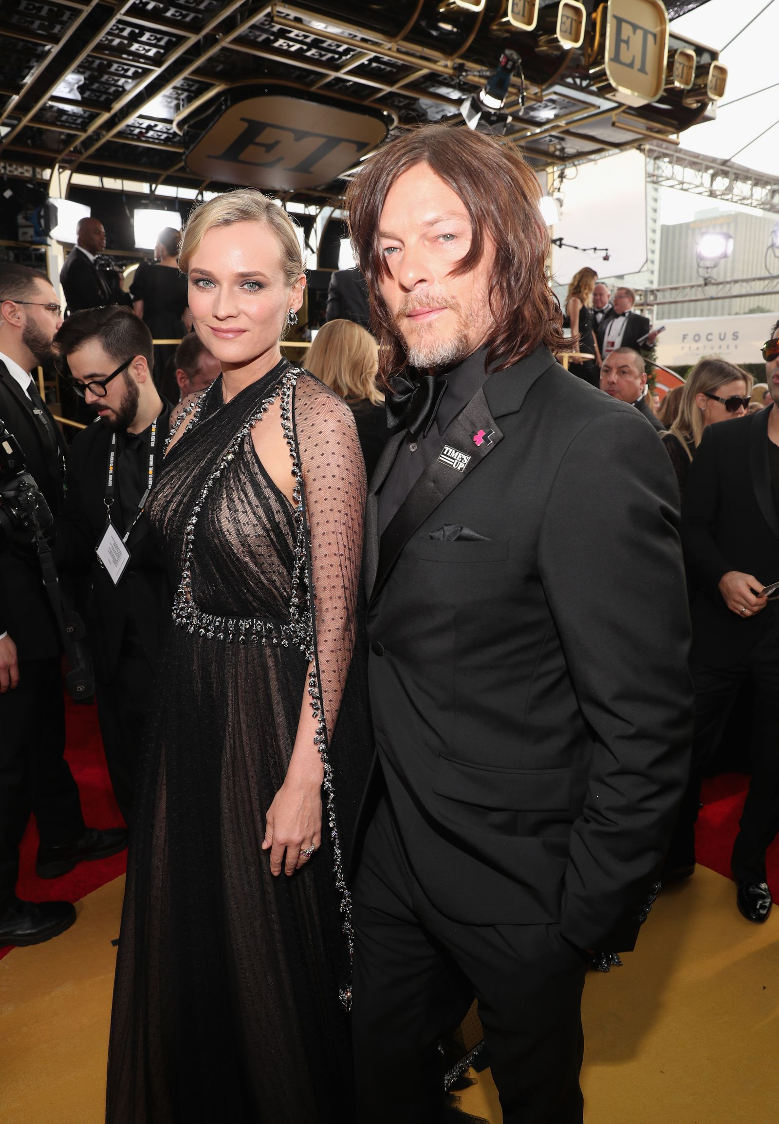 Diane Kruger Is Pregnant With Her First Child Norman Reedus Diane Kruger Norman