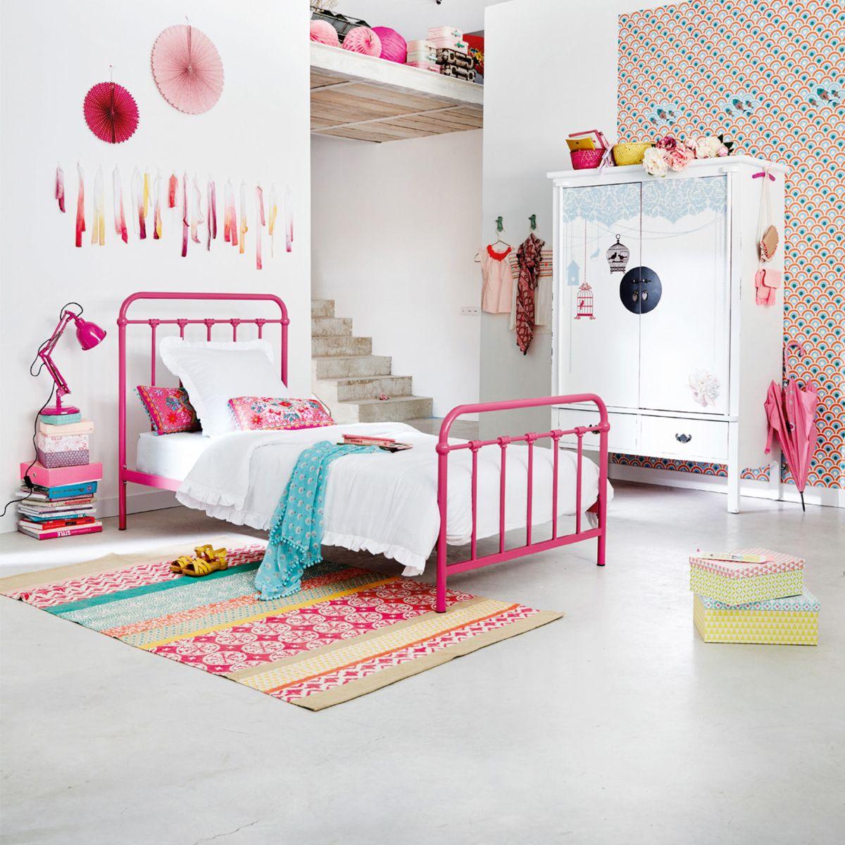 Decouvrez La Collection Junior 2016 Maisons Du Monde Dans Le Catalogue Interactif Mymdm Cotton Rug Wooden Closet Childrens Bedrooms