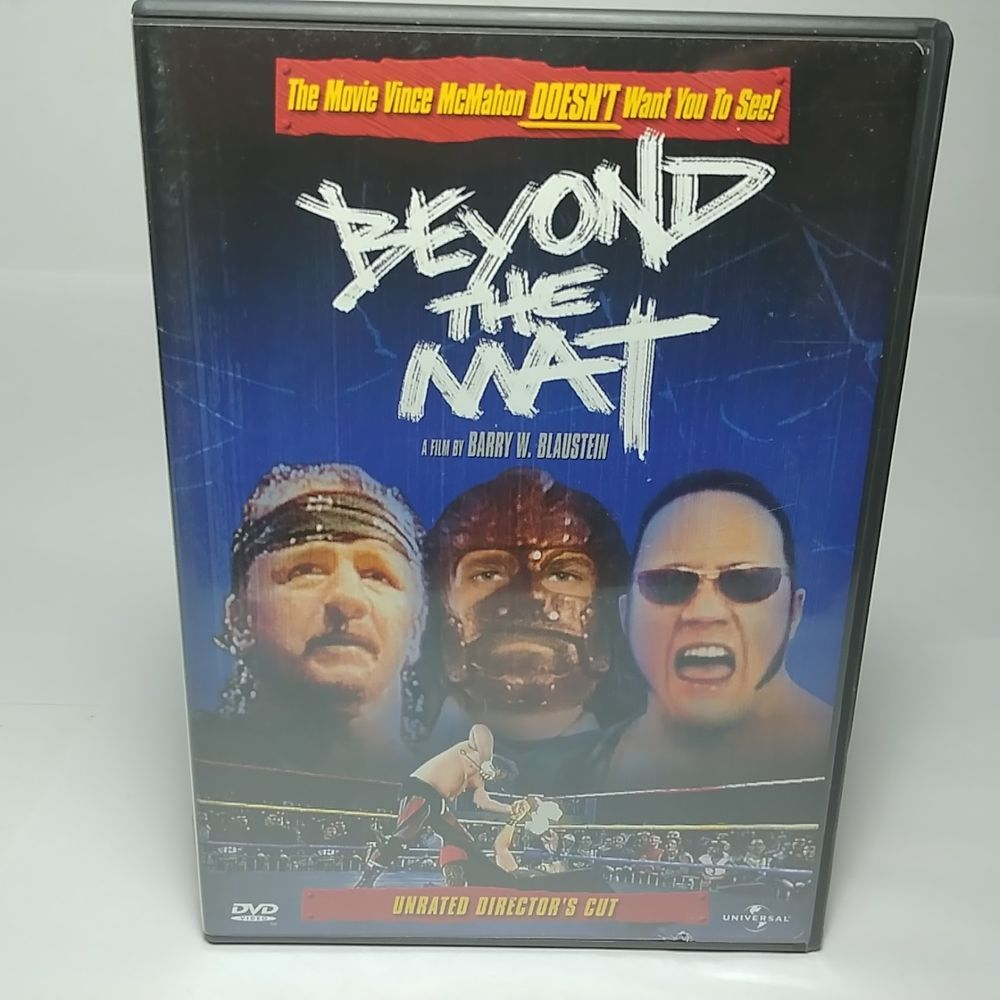 Beyond The Mat 1999 Dvd Unrated Director S Cut Rare Canada Release