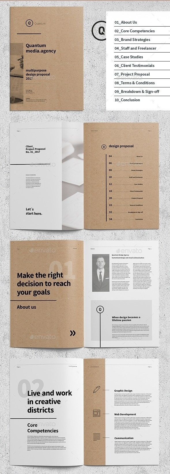 35+ InDesign Business Proposal Templates