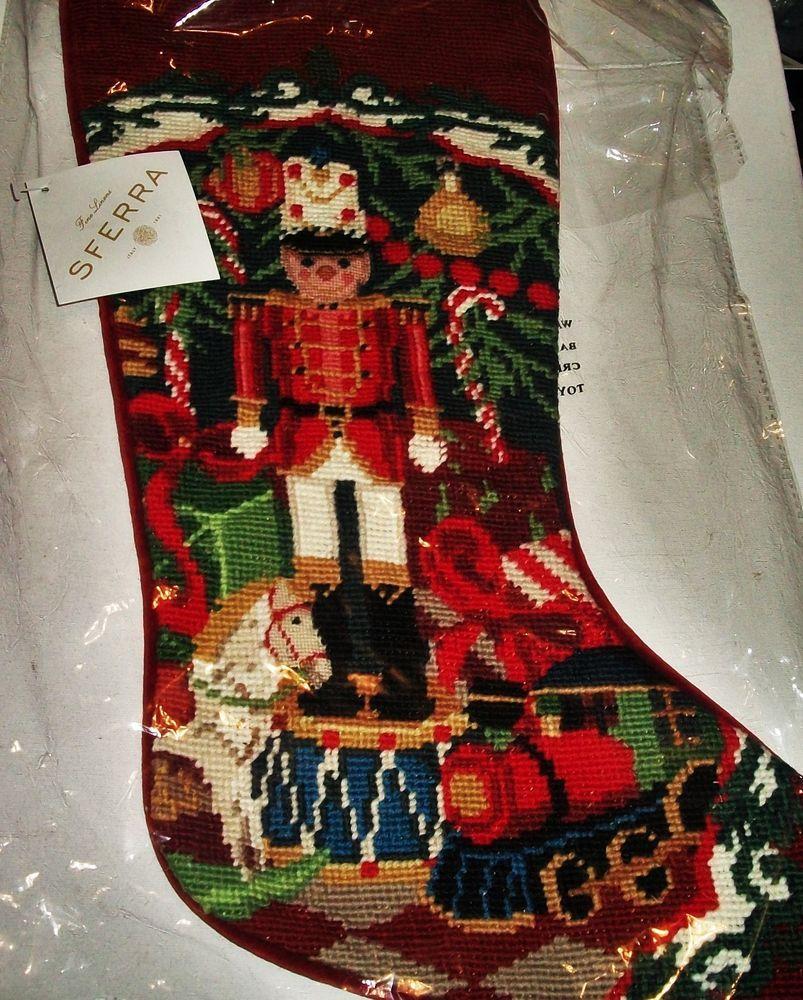 Sferra Christmas Stocking Toy Solr Holiday