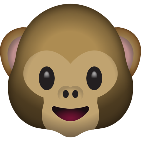 Monkey Face Emoji Monkey Face Emoji Monkey Emoji