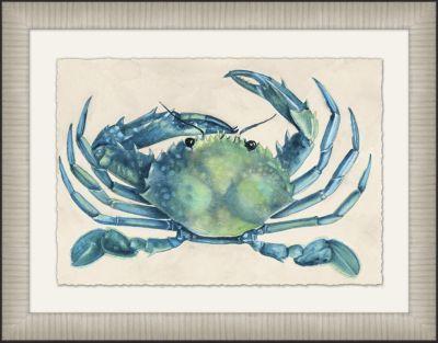 Accessories, Modern Crab Framed Art I, Accessories | Havertys Furniture #HavertysRefresh