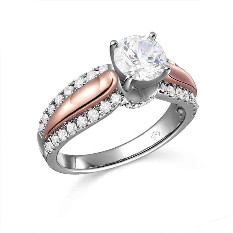 Ten Gorgeous Rose Gold Engagement Rings To Sweep Her Off Feet Bestbride101