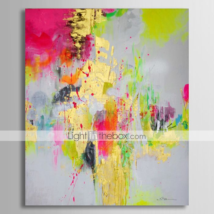 90 27 Oil Painting Hand Painted Abstract Classic Stretched Canvas Abstract Painting Art Oil Painting Abstract