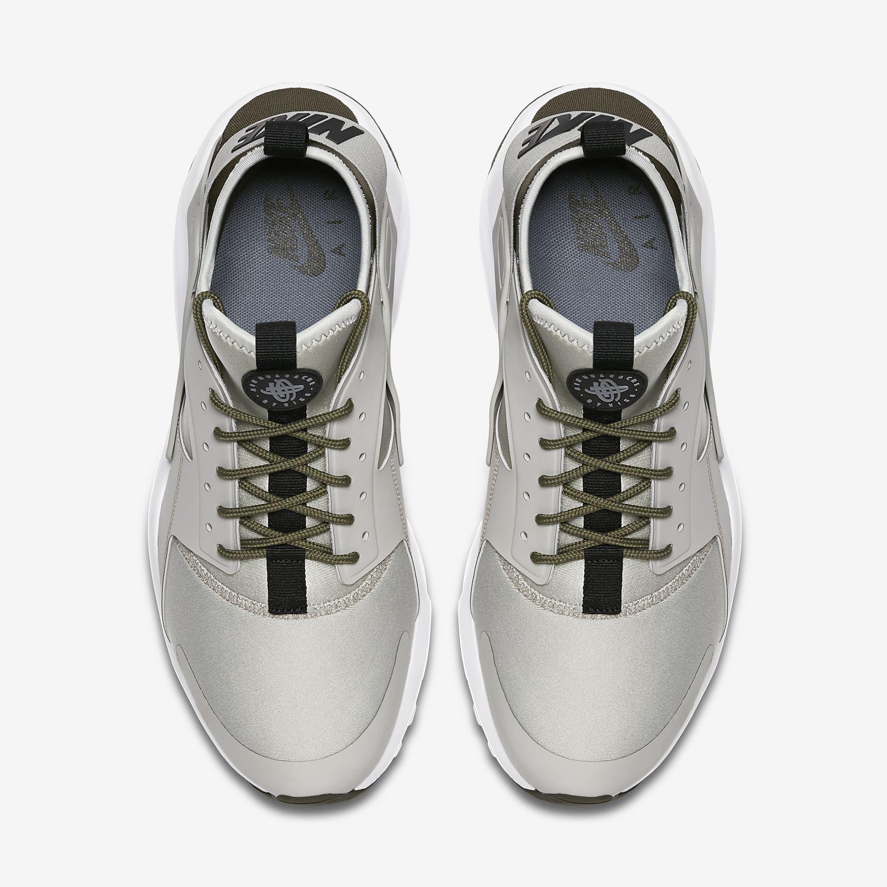 huge discount f9f16 4b929 Chaussures Homme AIR HUARACHE Ultra Gris pâle Kaki cargo Gris froid Noir