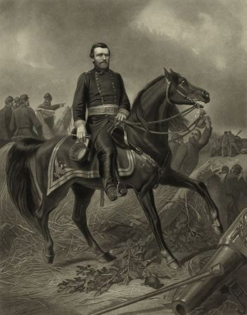 Ulysses grant was known as a natural and skilled rider library of general grant during the american civil war leading troops mounted on his horse publicscrutiny Images