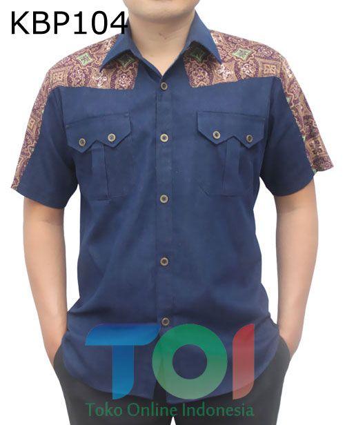 Sold Out Baju Batik Modern Model Baju Pria Kemeja Dan Menjahit