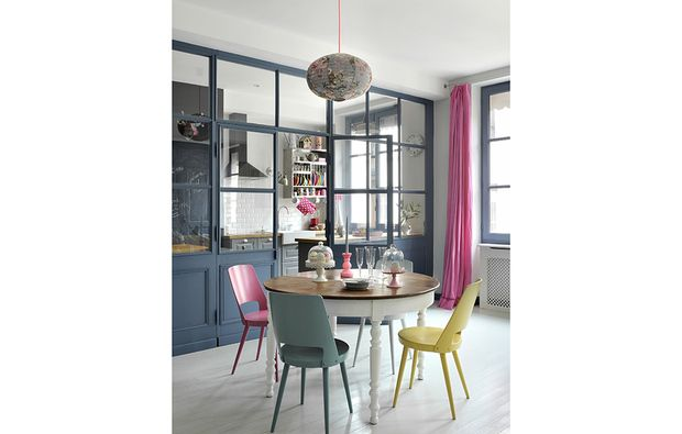 Dividere soggiorno e cucina con una vetrata | Casa | Pinterest ...