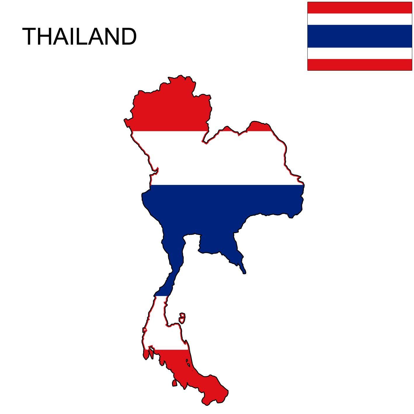 Thailand Thailand Flag Map Thailand Flag Flag Thailand
