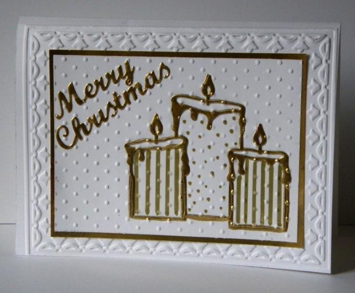 TLC509  WT507  Christmas Candles