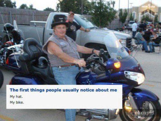 Really bad dating profiles