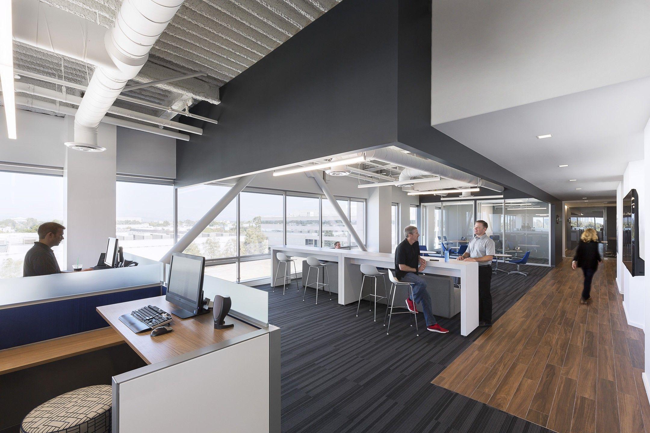 Mazda Western Regional Office Lpa Inc Showroom Interior Design Open Office Open Office Layout