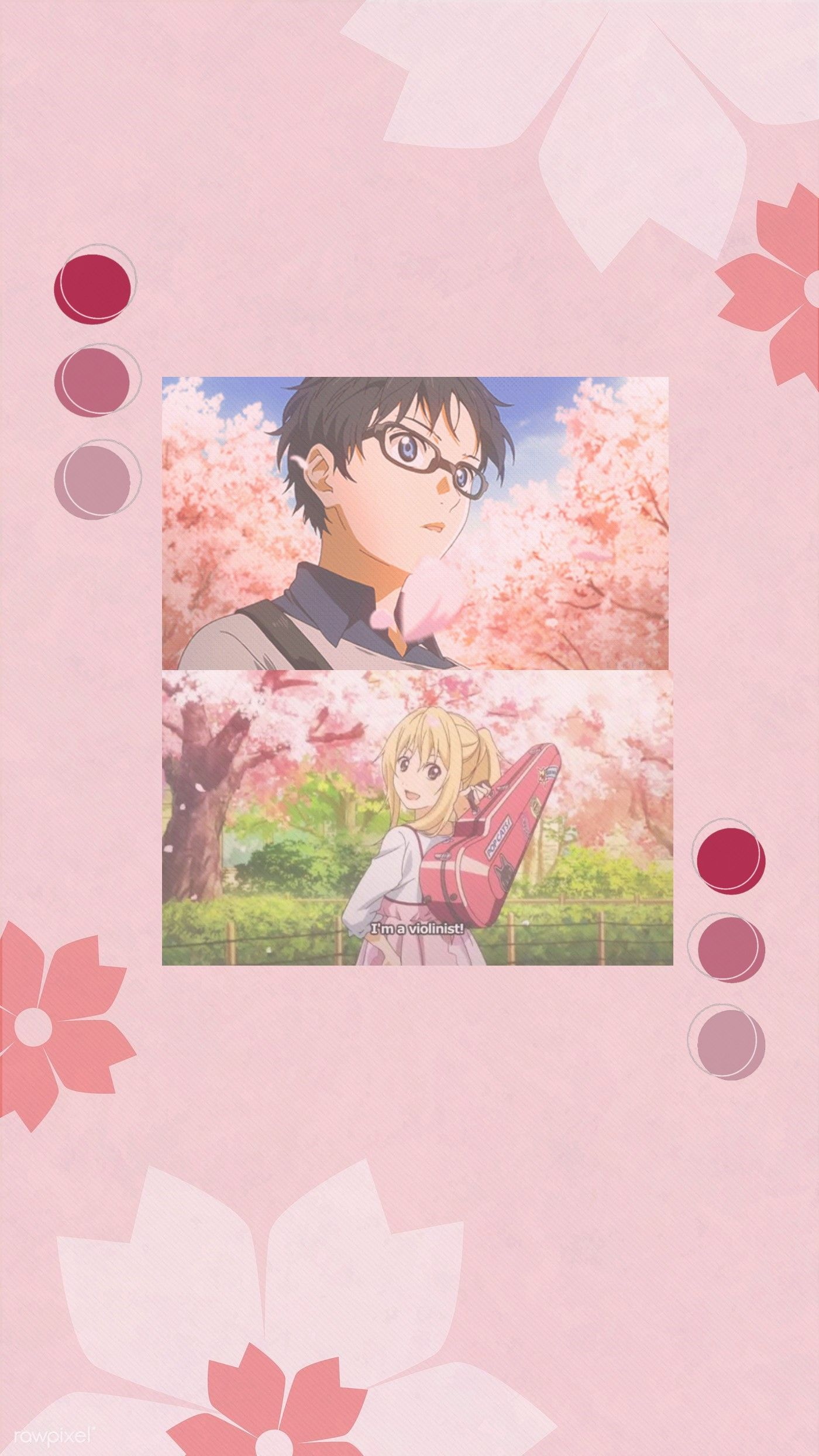 Your Lie In April Wallpaper Anime Backgrounds Wallpapers Anime Wallpaper Anime Wallpaper Phone Aesthetic anime wallpaper your lie in