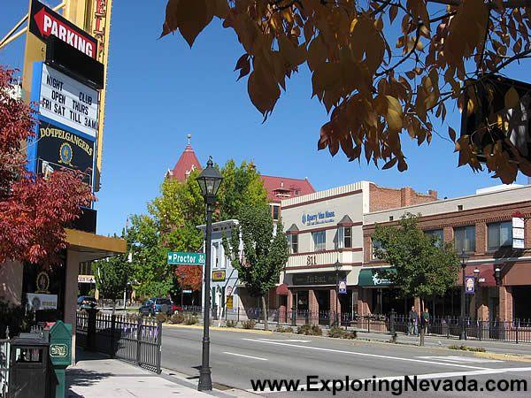 Downtown Carson City Nevada Travel Carson City Virginia City