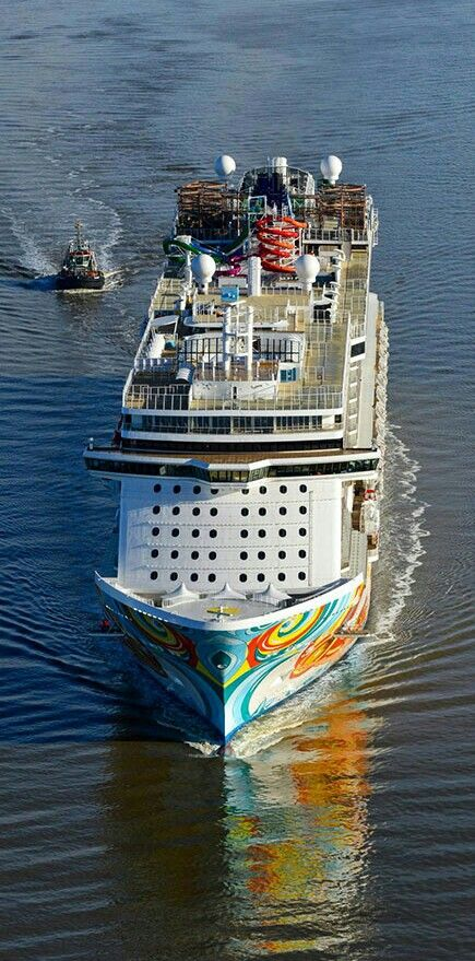 Norwegian Getaway on Sea Trails January 2014