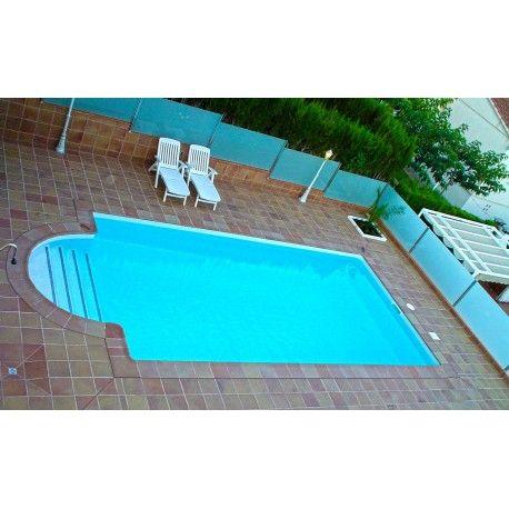 Piscina de obra de 9x4 5 referencia piscina obra de 9x4 5 - Medidas de escaleras ...
