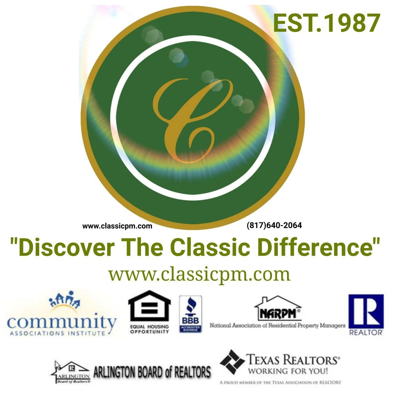 Classic Property Management Aamc Classic Real Estate Services In 2020 Property Management Management Association Management