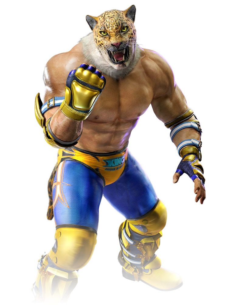 King Artwork From Tekken Mobile Art Artwork Gaming Videogames