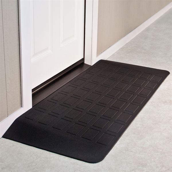 SafePath™ EZ Edge™ Transition Rubber Threshold Ramp - ADA