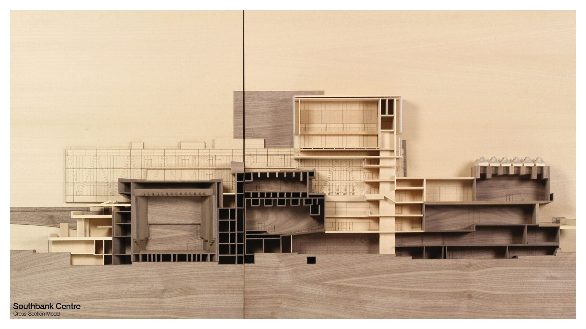 Southbank Crosssection model by kengrix 건축