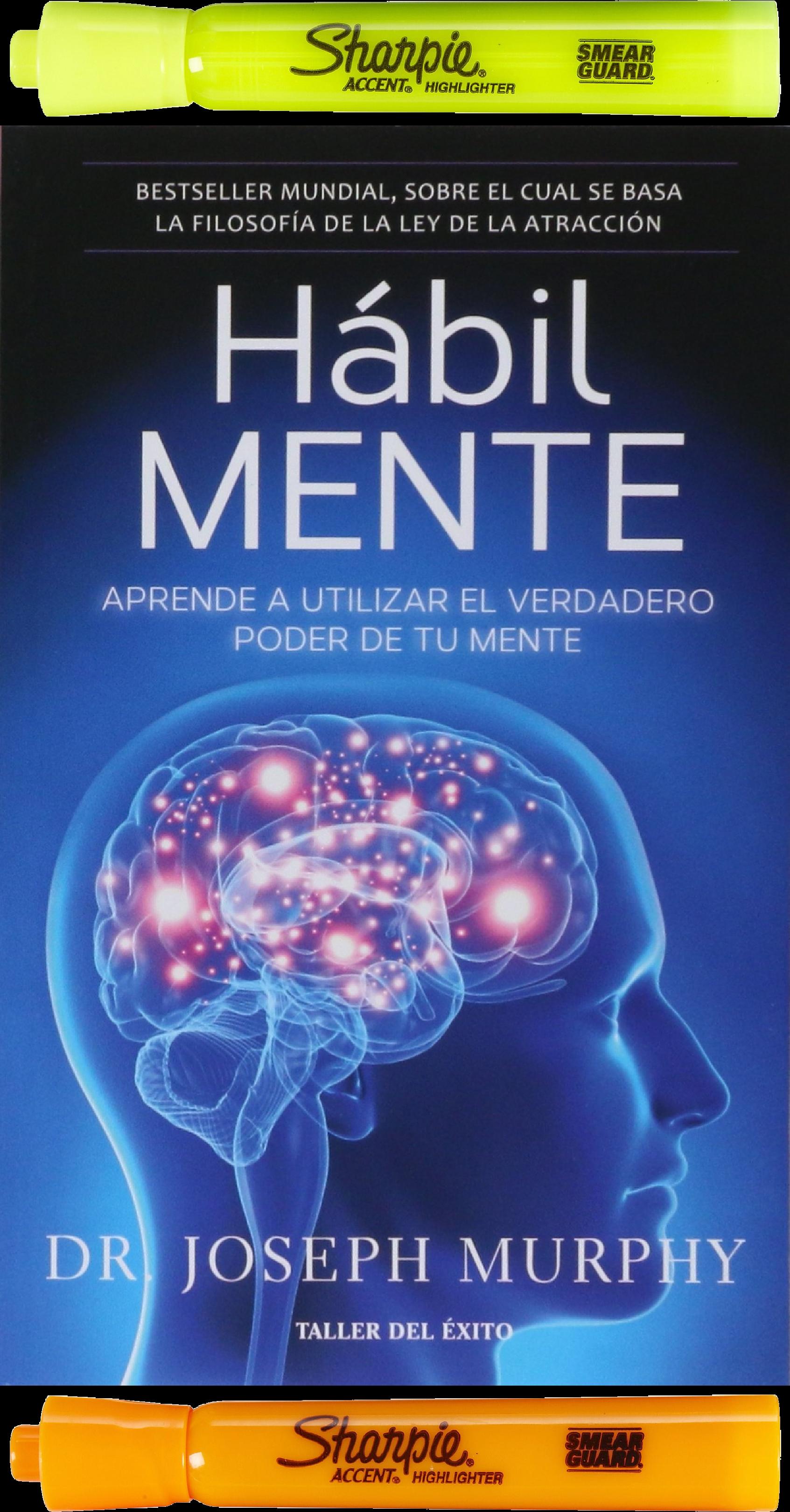 Hábil mente: Aprende a utilizar el verdadero poder de tu mente, Joseph  #Murphy Año: 2017 Edición: 01 No. páginas: 264 páginas.