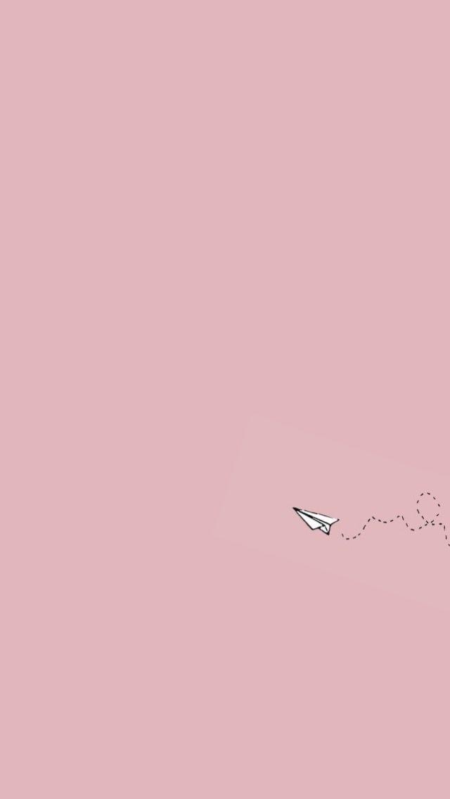 paper plane// wallpaper