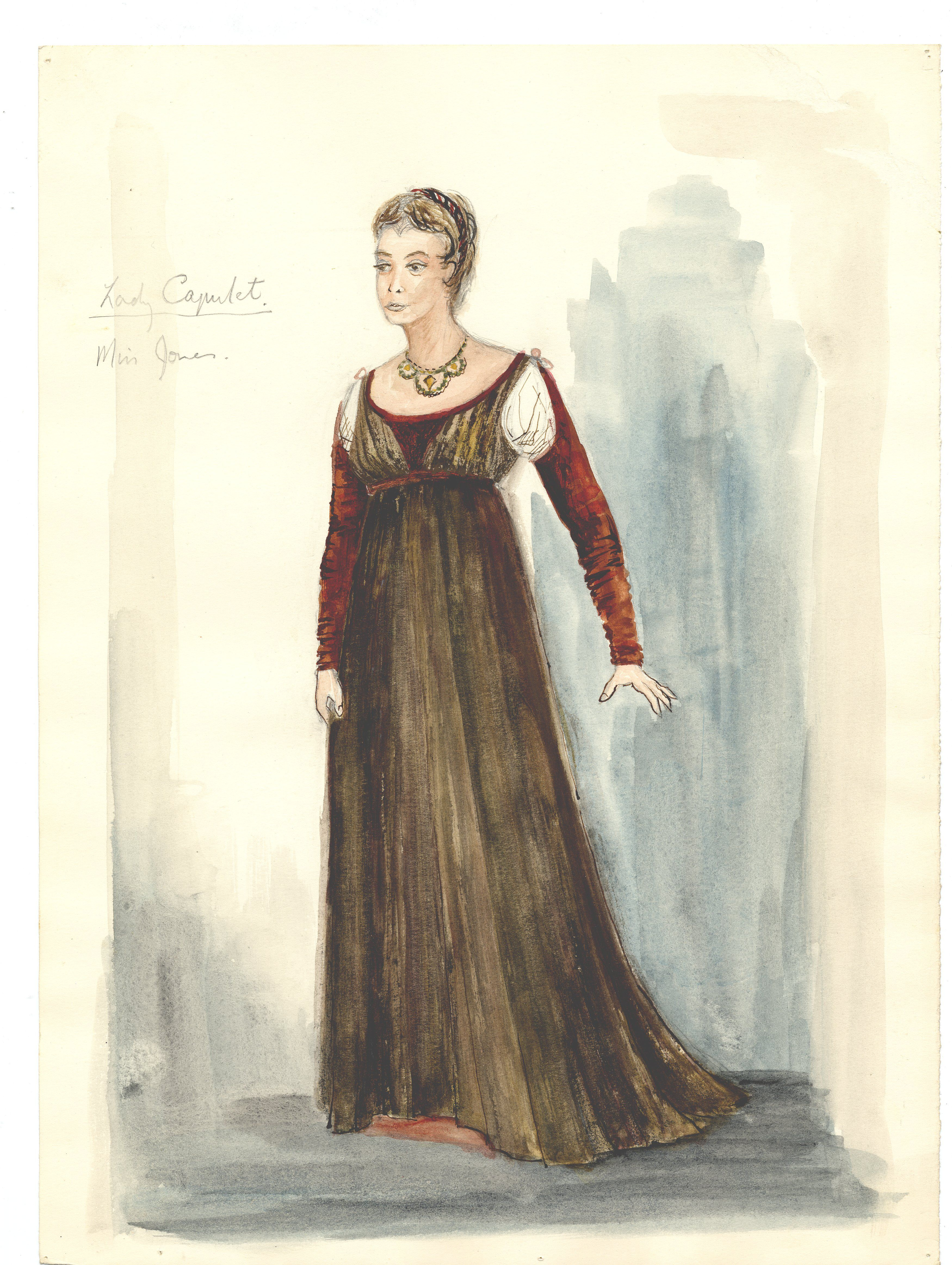 Daphne Dare - Lady Capulet costume design   Historical ...