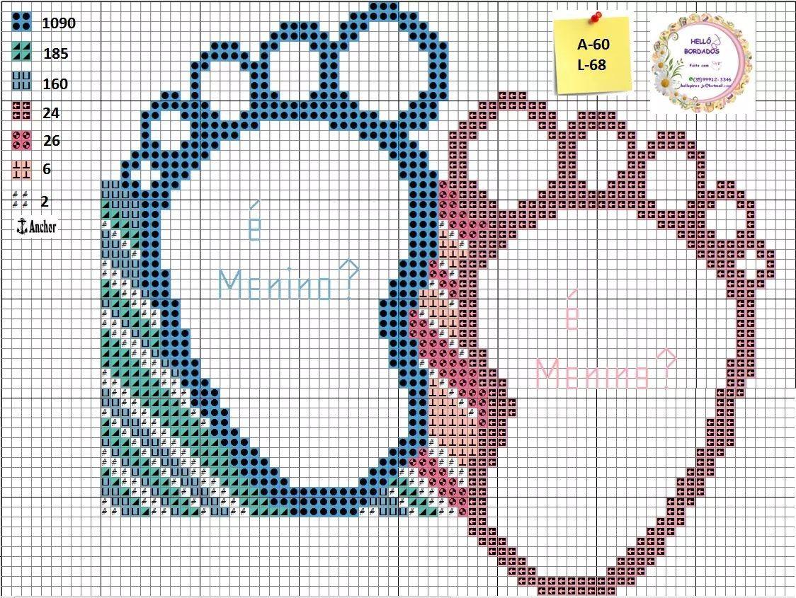 Pin by Jean Deffler on Babies | Pinterest | Punto de cruz, Punto de ...