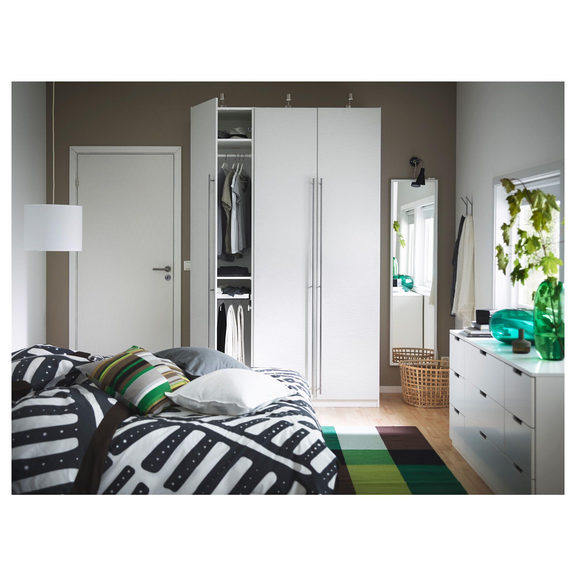 IKEA VINTERBRO White Door with hinges Ikea bedroom, Ikea