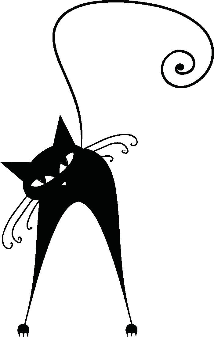 Pin di martina menghini su tatoo pinterest gatto - Gatto disegno modello di gatto ...