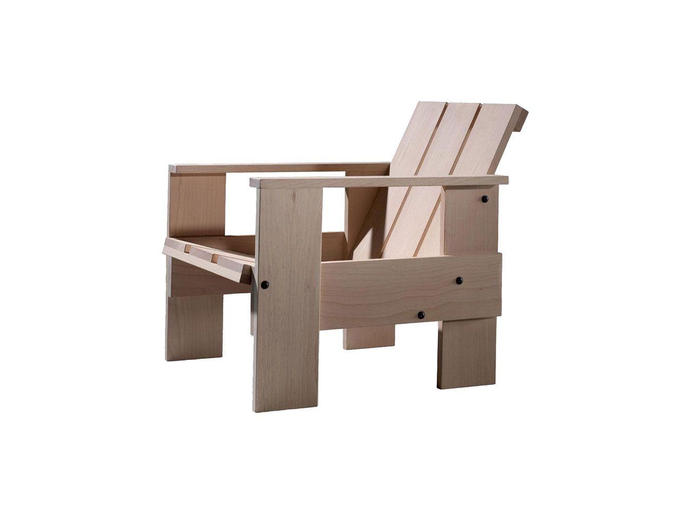 rietveld chair plans - Buscar con Google   Jardin muebles ...