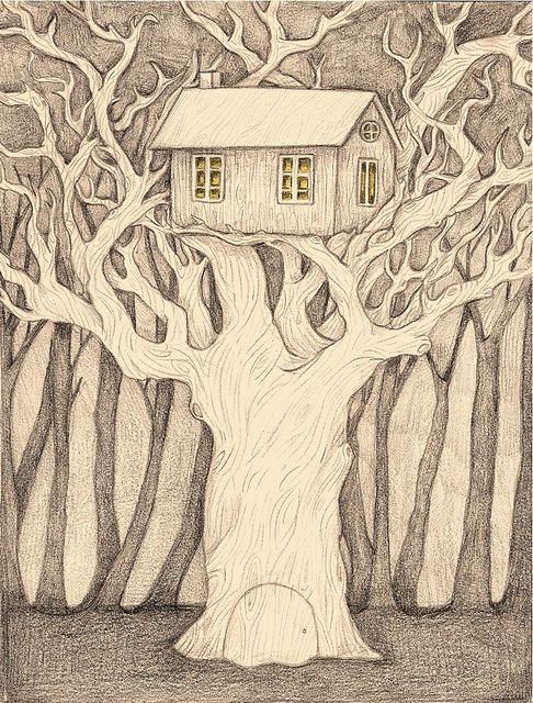Top of the oak tree by Rachel Levit, via Flickr