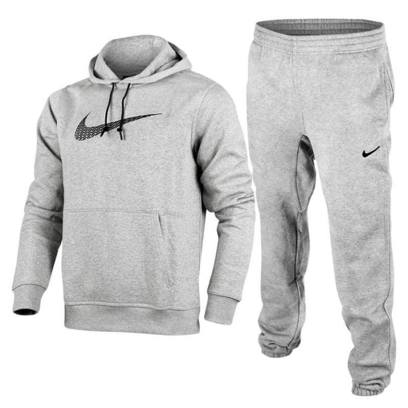 d1ae7359b729 Nike Mens Big Swoosh Full Tracksuit Fleece Hooded Jogging Bottoms S M L XL  3 Col