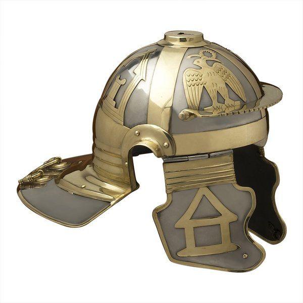 Imperial Italic 'D' (Mainz) Roman Helmet | Armor Tech Defense Ltd.