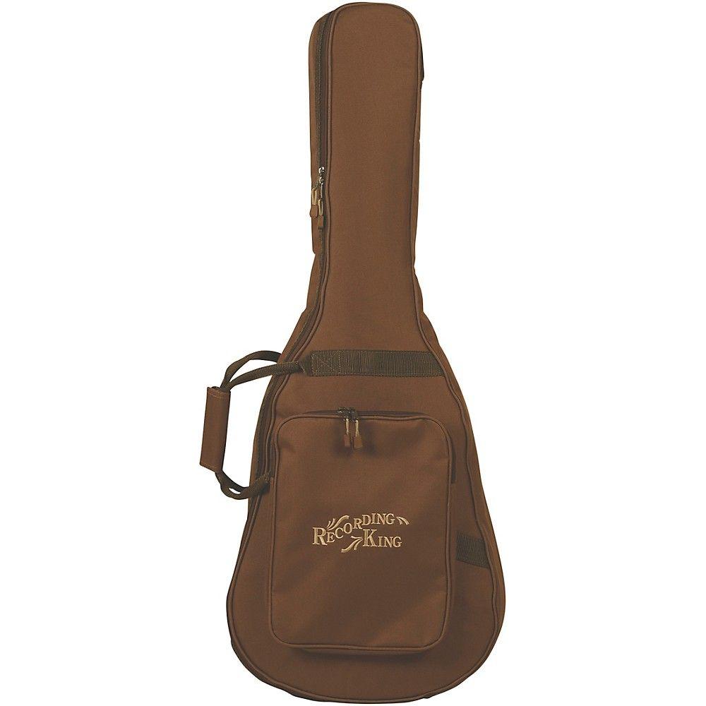 Recording King 250 Series Parlor Acoustic Guitar Gig Bag In 2020 Guitar Bag Recording King Acoustic Guitar