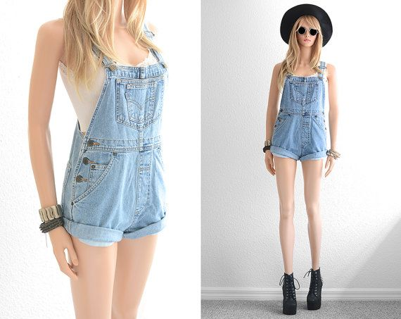 Try This Summer, Short Overall Jeans Outfit Ideas | Overalls women ...
