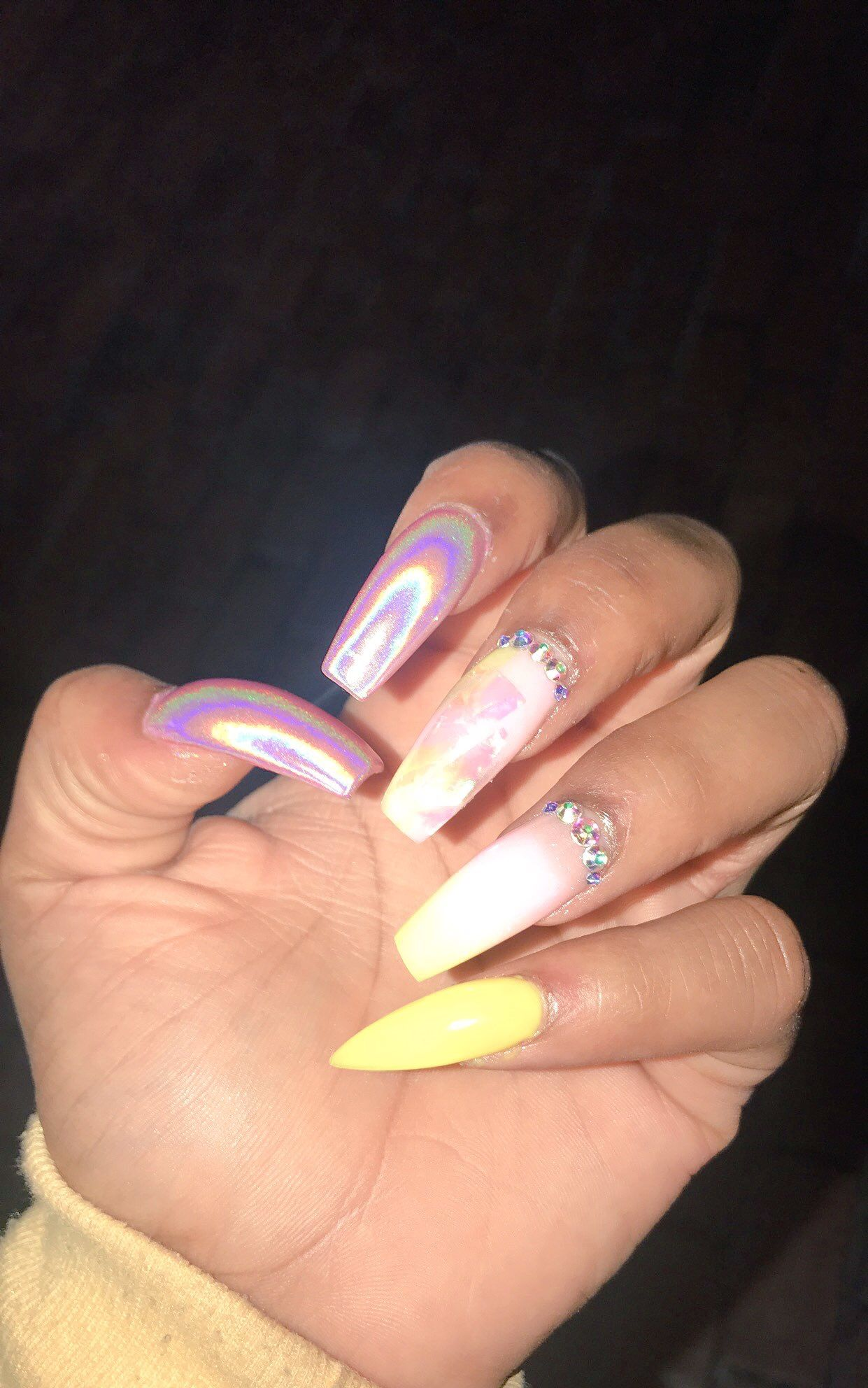 Pin by Queen Ivy👸🏾 on Nails Slay | Pinterest | Nail inspo, Nail ...