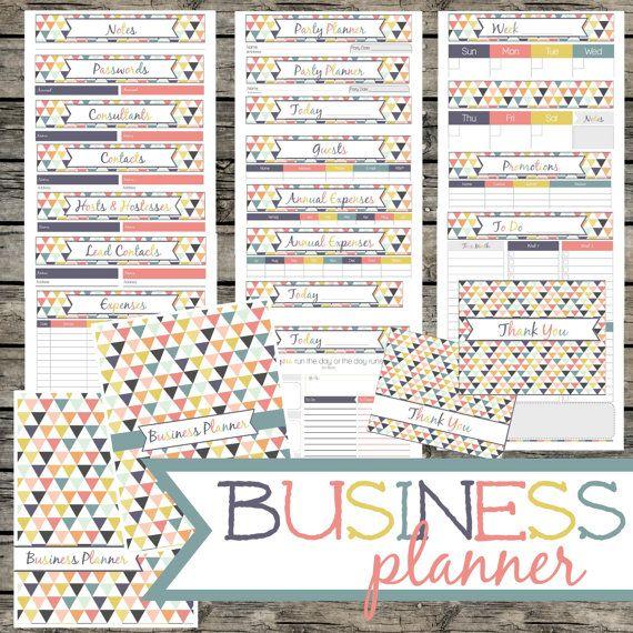 Business Planner Direct Sales Planner 41 By Myloveforwordsshop