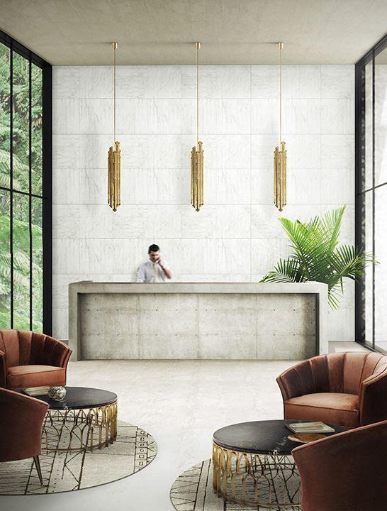Recepcion De Un Hotel Sencillo Pero Elegante Interieur