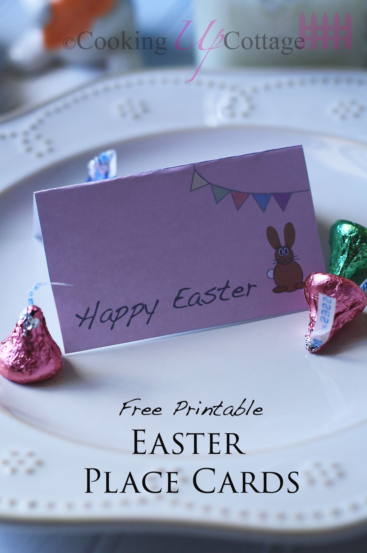 Free Printable Easter Place Cards Easter Printables Free Easter Place Cards Place Card Template