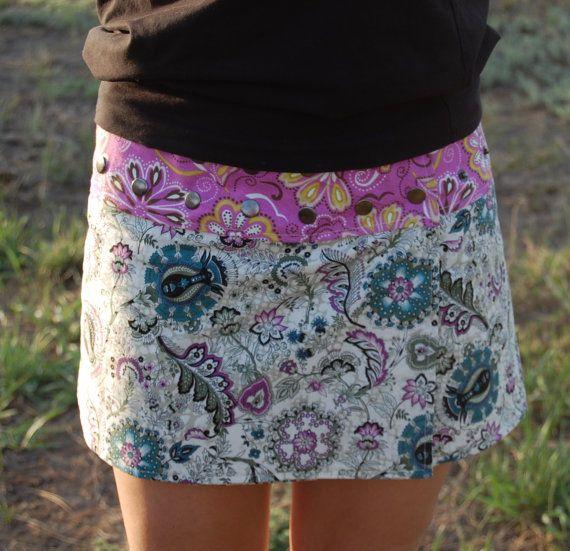 Li'l Skirt The Snap 'Rap Reversible Skirt Adjustable By