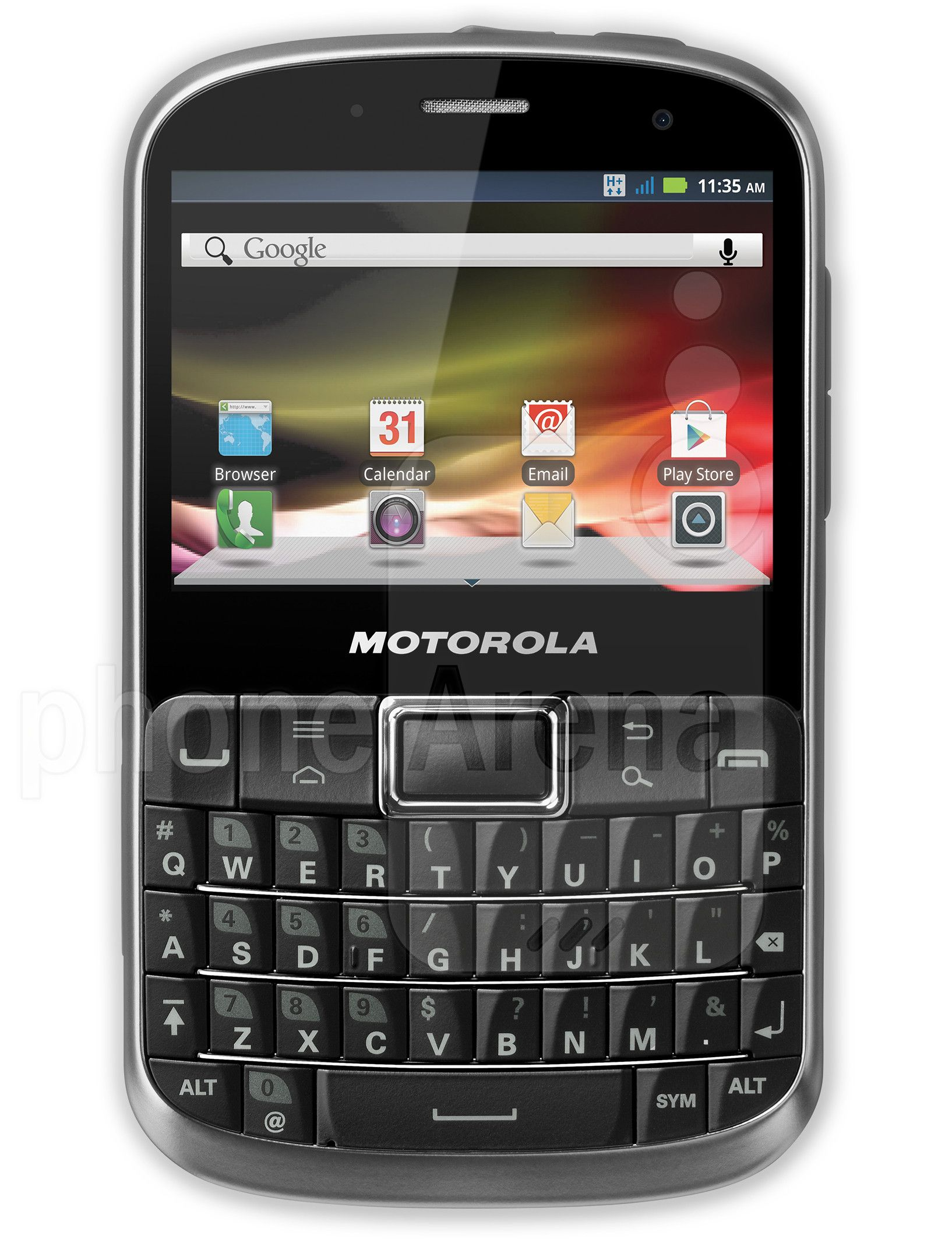 Motorola Defy Pro Finally A Rugged Water Resistant Android Device With Qwerty Keyboard